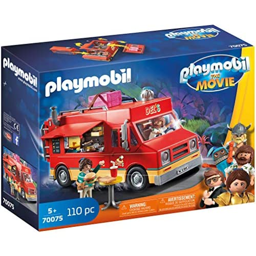 Playmobil The Movie Del's Food Truck