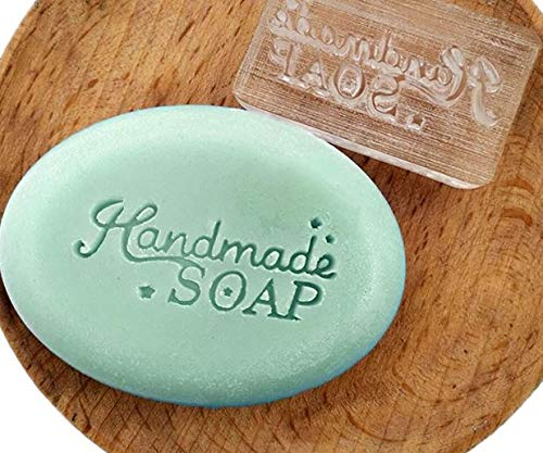 Handmade soap Stamp Mold Star Clear DIY Natural Organic Glass Resin soap Chapter Acrylic Chapters Custom