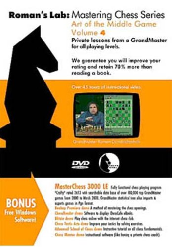 ROMAN'S LAB - VOLUME 4 - Art of the Middle Game Chess DVD