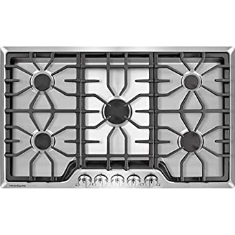 Frigidaire FGGC3645QS – Frigidaire Gallery 36 inch Gas Cooktop in Stainless Steel