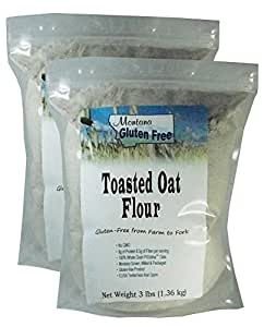 Amazon.com : Gluten Free Toasted Oat Flour - 2 Pack of 3