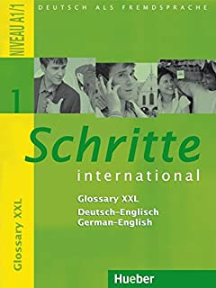 Schritte international 1 kursbuch arbeitsbuch mit audio cd zum schritte international glossary xxl deutsch englisch 1 german edition fandeluxe Image collections