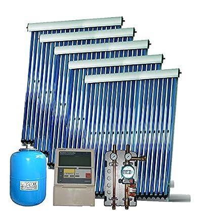 Calentador de agua solar paso a paso