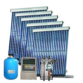 Rp Solar Solaranlage Warmwasser Vakuumrohren Komplettpaket X9000 5
