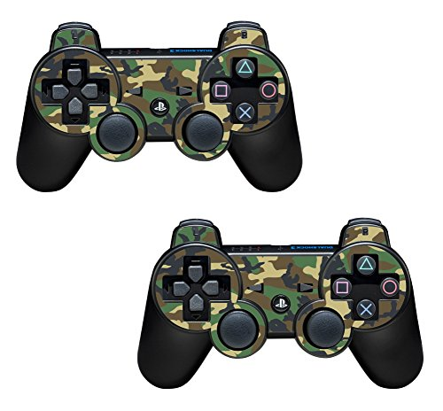 the grafix studio 2X Army Camouflage Playstation 3 (Ps3) Controller Sticker / Skin / 3Ps7