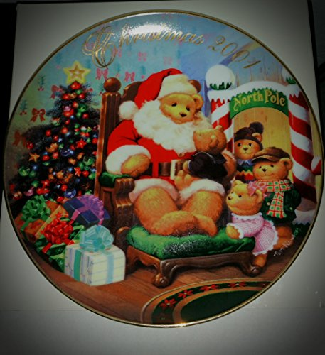 Avon 2001 Collectible Christmas Plate -
