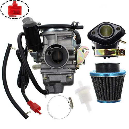 Carbhub PD24J Carburetor for GY6 125cc 150cc Go Kart Scooter 152QMI 157QMJ Carb with Air Filter Intake Manifold supplier