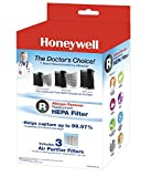 Appliances : Honeywell Filter R True HEPA Replacement Filter - 1 Pack of 3 filters