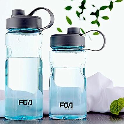 500 ml/800ml agua botella Fitness deportes al aire libre portable plástico mi Botle coctelera