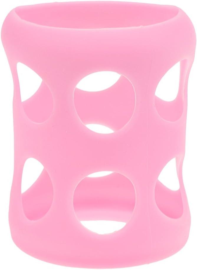 2 Colores Biber/ón Talla /única Funda Protectora De Silicona Rosa 1 Pieza De Vidrio Moda