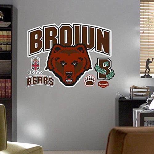 NCAA Brown Bears Logo Wall Graphic