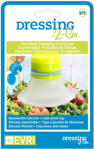 Evriholder Dressing Salad Container 2 ounce product image