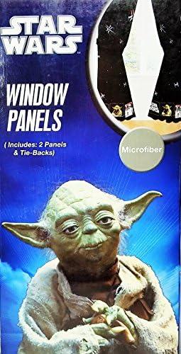Star Wars Curtains Window Treatment 2 Panels Drape