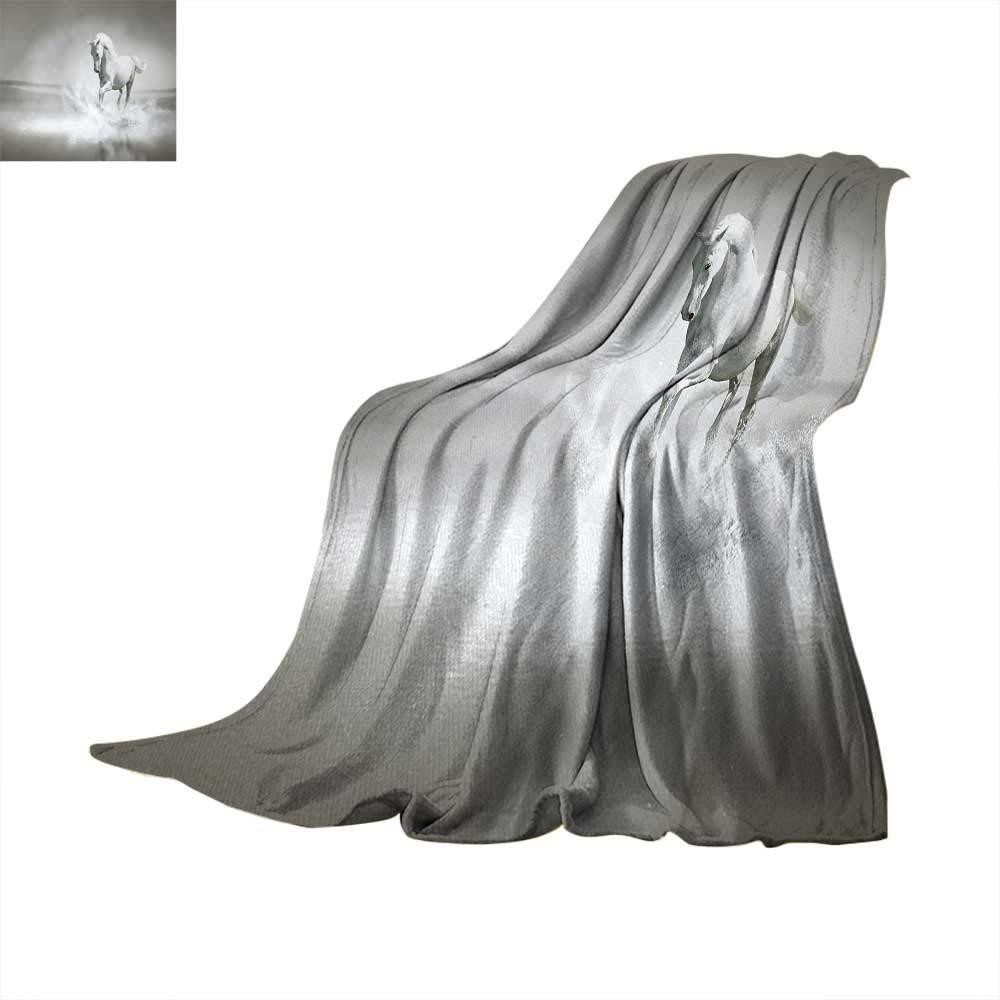 1d9e9f7728 Horses Warm Microfiber All Season Blanket Wild Horse Running Through Water  Dramatic Symbol for The Motivation of Life Art Print Artwork Image 60