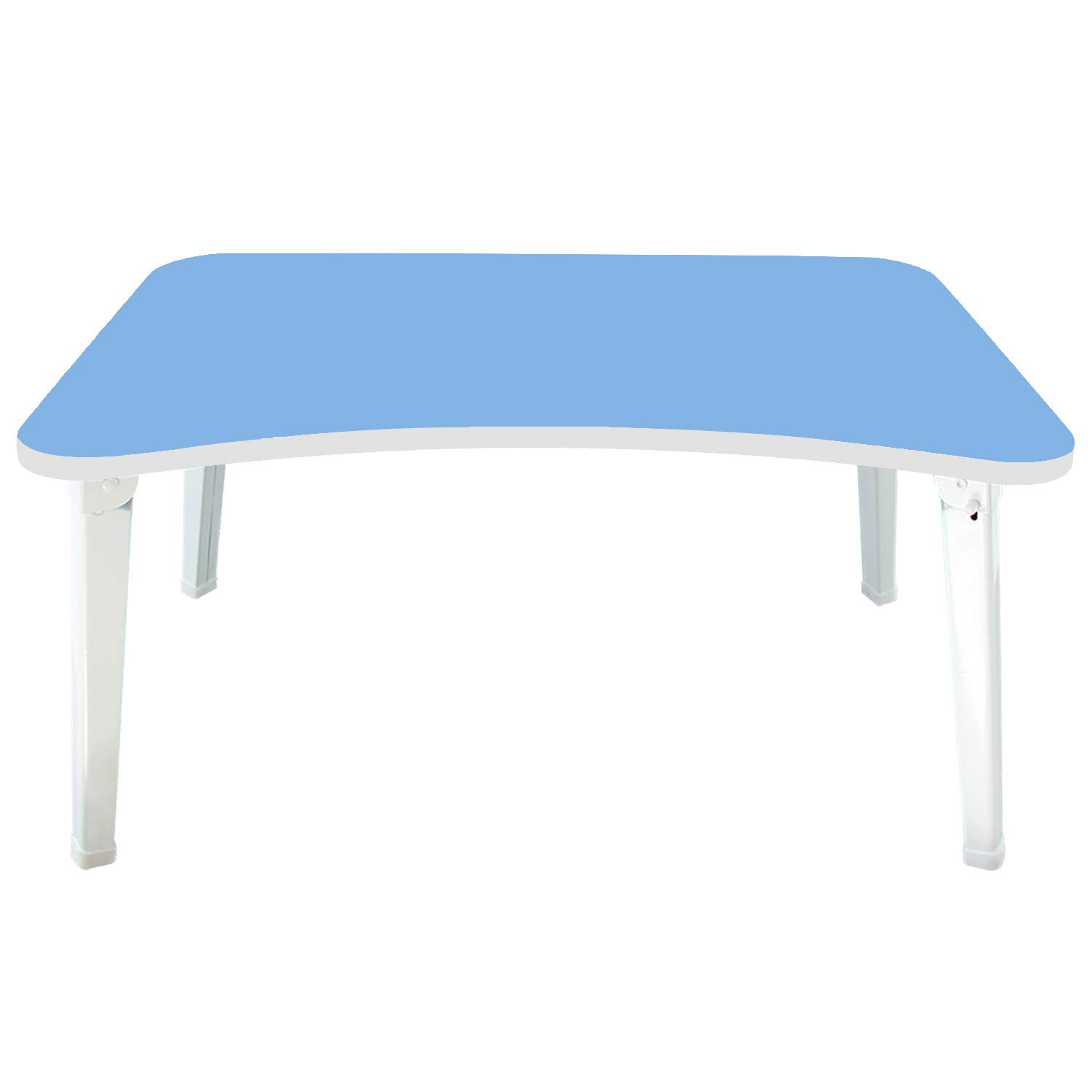DL furniture -Large Foldable Bed Tray Lap Desk, Perfect for Watching Movie on Bed or as Personal Dinning Table   Blue