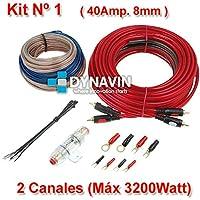 Equipo de cableado para amplificadores de vehículos