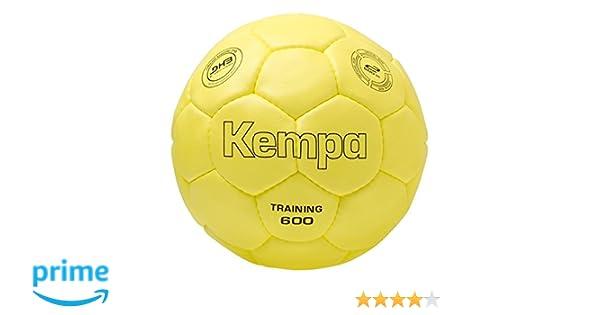 Kempa 600 Balón de Entrenamiento, Unisex, Amarillo, 2: Amazon.es ...