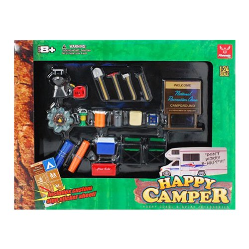 Hobby Gear Happy Camper Set by Hobby Gear