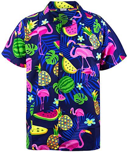 , Shortsleeve, Flamingo Melon, Blue, M ()