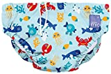 Bambino Mio, Reusable Swim Nappy , Deep Sea Blue, Large (1-2 Years)