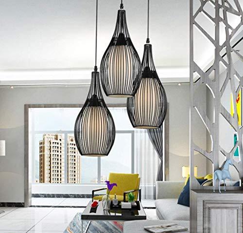 BOSSLV Pendant Lamps Lights Ceiling Lamps Lighting Fashion Round Pendant Light 1-16 Heads Hotel Living Room Lighting Log Wood Ball Led Simple Restaurant Chandelier, Color ()