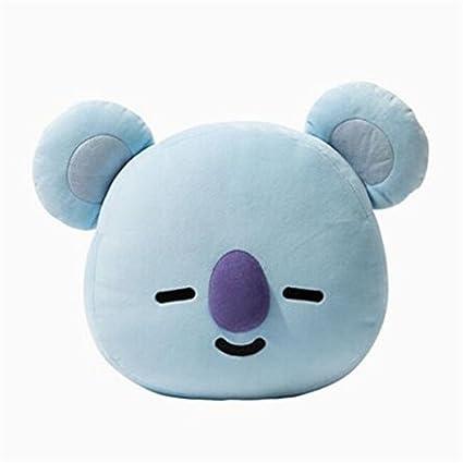 EWINHUIYING BTS Pillow Doll Plush Small Plush Puppets Toy Bangtan Boys Throw Pillow Cushion Perfect for