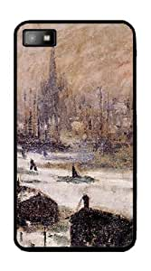 Amsterdam in the Snow (Monet) - Case for BlackBerry Z10