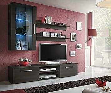 Moderne Wohnwand Tv Lowboard Unterschrank Schrankwand