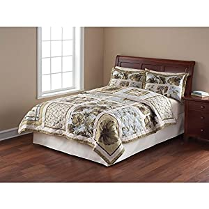 Amazon Com Mainstays Quilt Collection Twin Size Palm