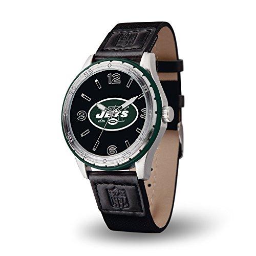 NFL New York Jets Player Watch, Black (New York Jets Team Timer)