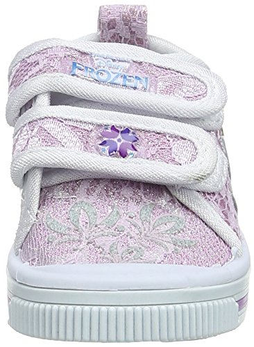Disney Canvas Low Pizzo, Zapatillas Para Niñas Violeta