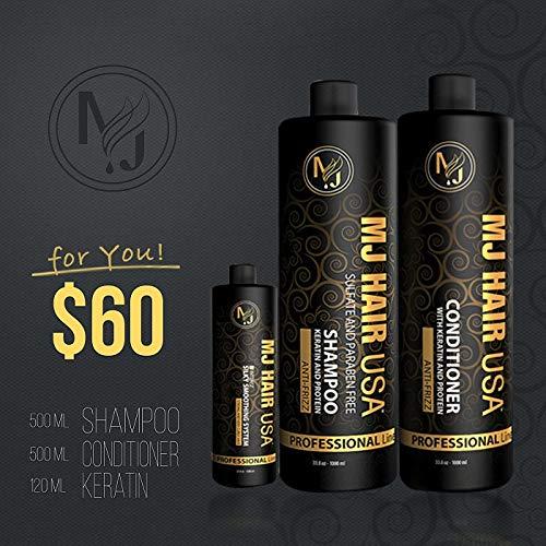 Smoothing System 1 Shampoo - MJ Hair Keratin kit