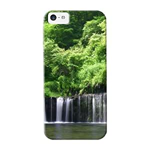 meilinF000New Arrival Case Cover Kjjfxm-1715-rhapoyl With Design For ipod touch 4- Rain Forest Best Gift Choice For LoversmeilinF000