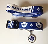 Hunter Toronto Maple Leafs Pet Combo (Includes Collar, Lead, ID Tag), X-Small