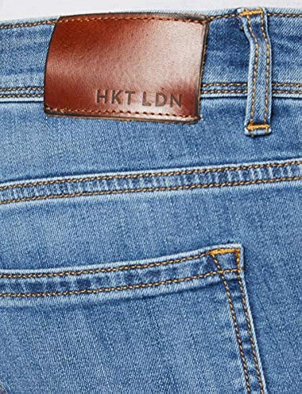 HKT by Hackett Core Lt WSH Denim dżinsy męskie: Odzież