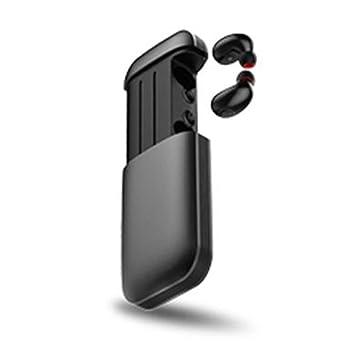 Anna-neek Auriculares Bluetooth Inalámbricos Mini Stereo Auriculares Inalambricos Protectores contra el Sudor con Micrófono Integrado para iPhone y Android: ...