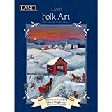 img - for Lang Folk Art 2018 Monthly Pocket Planner book / textbook / text book