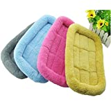 Glumes New Polar Fleece Pet Bed, Soft and Washable Pet Mat Dog House Small Medium Large Pet Animal Small Dog Bed Ideal