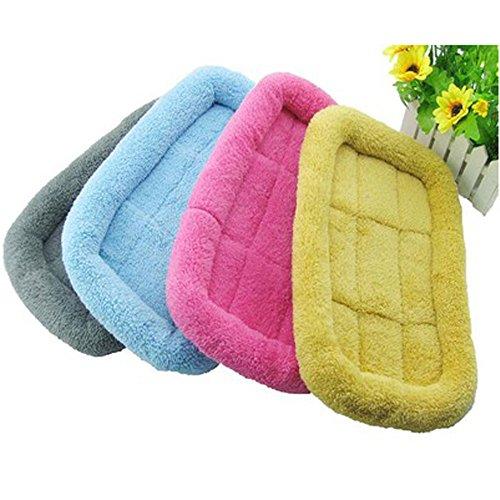 Glumes Polar Fleece Pet Bed, Soft Washable Pet Mat Dog House Small Medium Large Pet Animal Small Dog Bed Ideal
