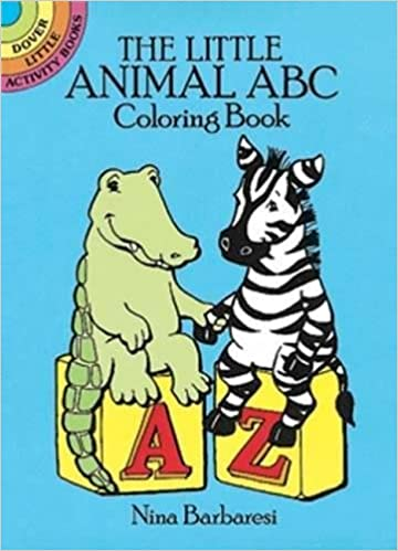 The Little Animal ABC Coloring Book (Dover Little Activity Books ...