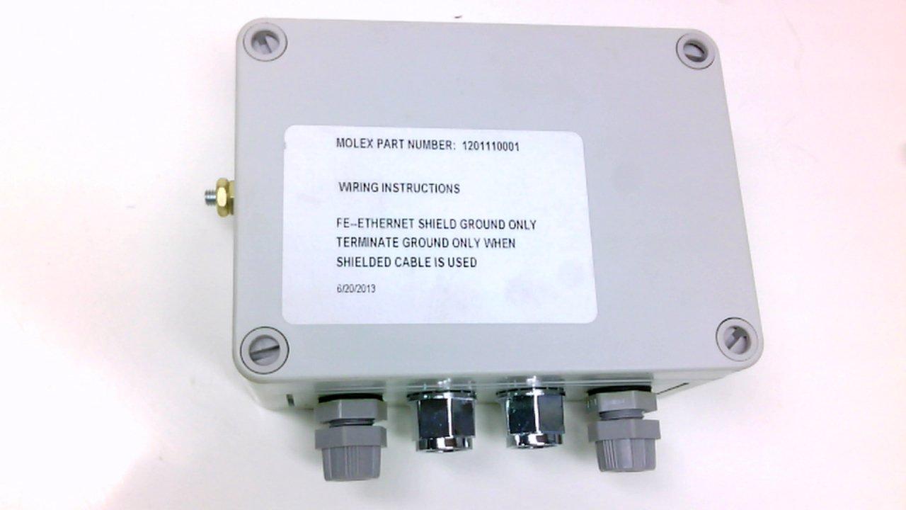Brad Connectivity 1201110001 Converter Box Rj45 To 4 Pole Micro 1201110001