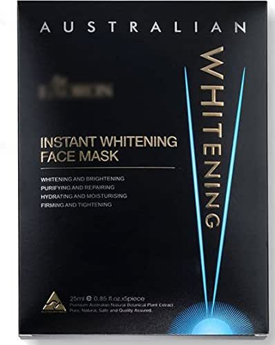 Eaoron Instant Whitening Face Mask 5pc origin of Australia