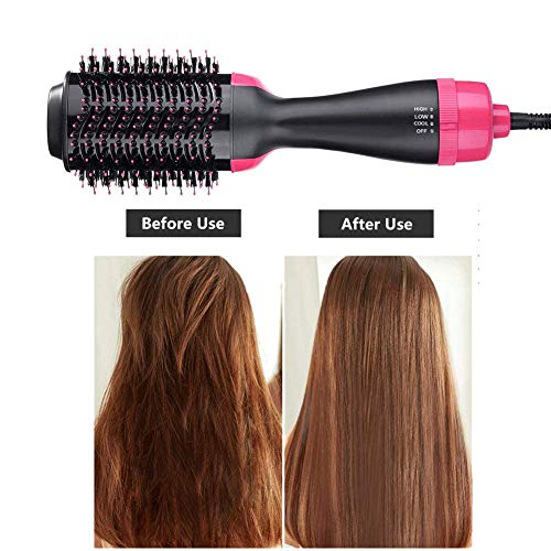 Multifunctional hair dryer brush hot comb hair dryer hair dryer with comb curling brush