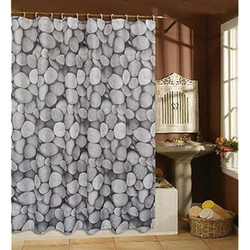 Merveilleux BetterJonny   Elegant Pebble Bathroom Waterproof Fabric Shower Curtain W/  12 Hook Home Decor