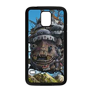 Howl's Moving Castle Samsung Galaxy S5 Cell Phone Case Black 05Go-440118