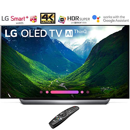 LG OLED55C8PUA 55″-Class C8 OLED 4K HDR AI Smart TV (2018 Model) – (Certified Refurbished)