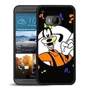 HTC ONE M9 Case,goofy cartoon Black For HTC ONE M9 Case