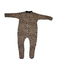 BabywearUK Leopard print sleepsuit - 6-12months - British Made