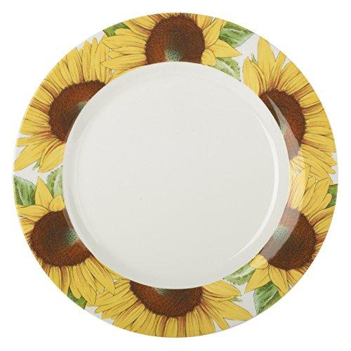Portmeirion Botanic Blooms Sunflower Dinner Plate (Set of 4)