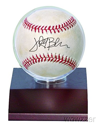 Ultra Pro Baseball Holder with Real Dark Wood Base! Safely Stores & Displays your favorite Baseball! Great looking affordable Sports Memorabilia holder with Ultra Clear Globe,No PVC & Acid Free #81675